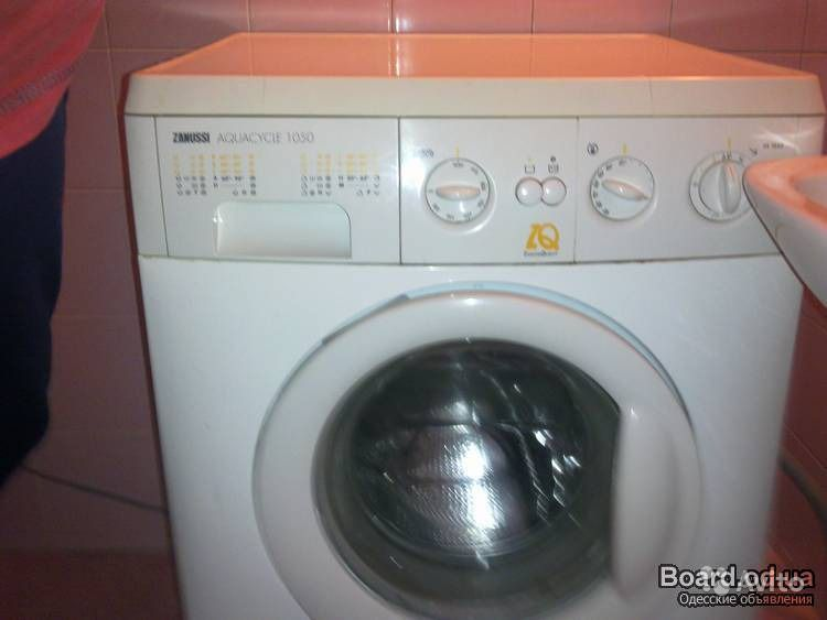 zanussi aquacycle 850 инструкция