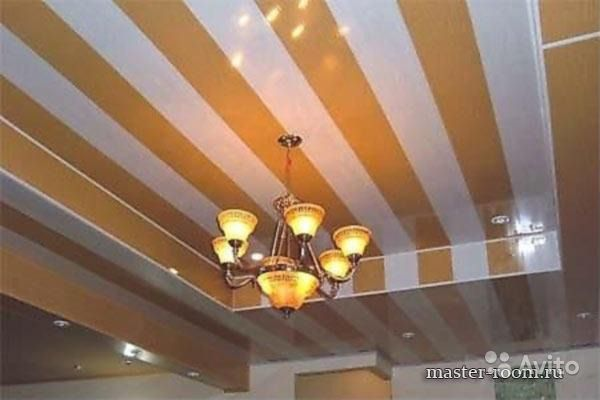 Потолок своим руками из панелей фото