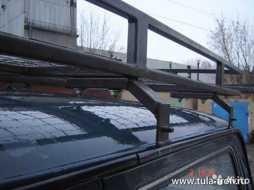 Крепление багажник на крышу автомобиля своими руками