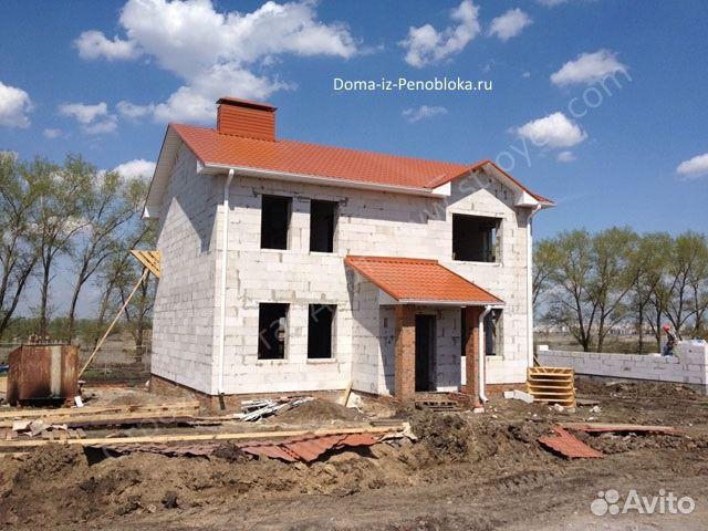 Двухэтажный дом из пеноблоков своими руками стоимость 94
