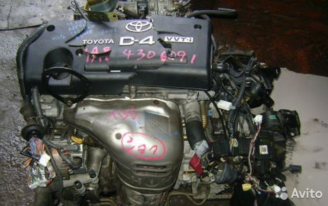 Двигатель 1az-fse тойоты