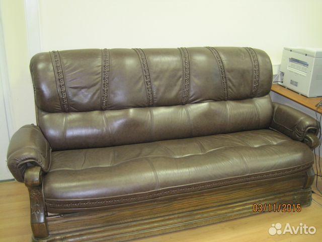 Б у кожаный диван