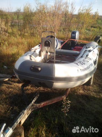 купить лодку с мотором на авито в хмао