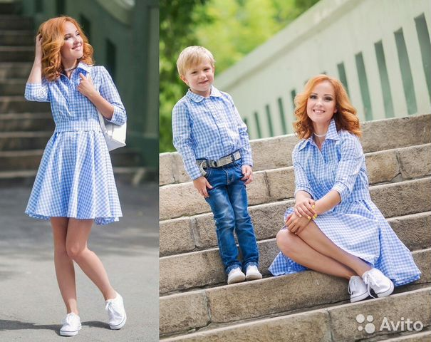 Family look мама и сын 39