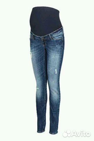 H and m джинсы для беременных 995