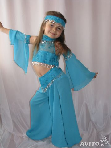 Карнавальный костюм восточной  для девочки своими руками