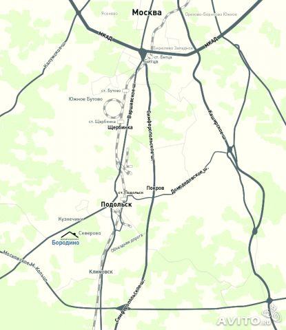 Схема проезда к жилому комплексу: 17 км. от...  E-mail: info@pkzborodino.ru.  Московская обл.,Подольский р-н, к/п...
