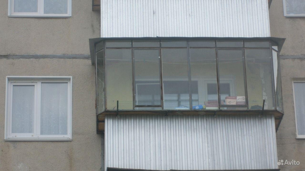 Предложение: остекление балконов металлическими рамами, горо.