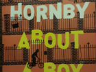 """About a boy"" - Nick Hornby"