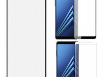 Защитное стекло полное SAMSUNG A730F A8 plus 2018