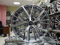 Новые литые диски R19 5x114.3 на Toyota Lexus
