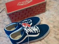 Оригинальные Vans Canvas Old Skool Blue