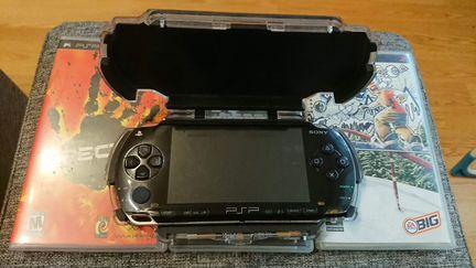 PSP Fat 1004 (+ 3 игры)
