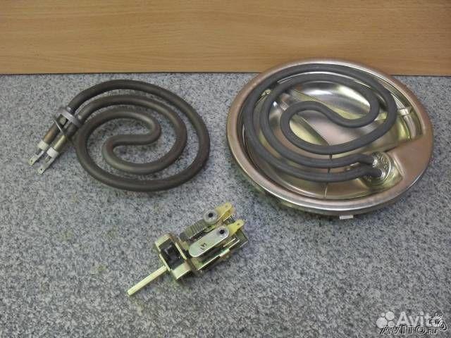 Конфорки для электроплиты: чугунные конфорки и
