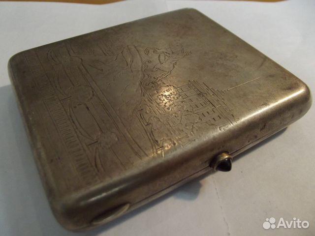 Серебряные портсигары - купить портсигар из серебра в