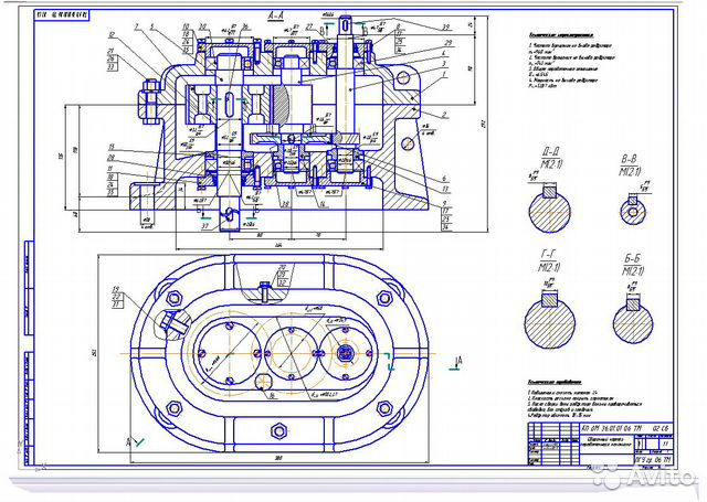 Как в компасе сделать чертеж из 3д модели 147