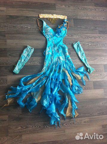 Авито платье для танцев купить