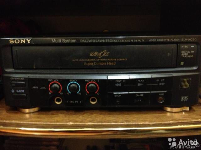 Продаю sony Video cassette player SLV-KC90CH