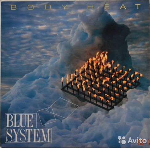 "Blue System ""Body Heat"" 1988 Lp— фотография №1"