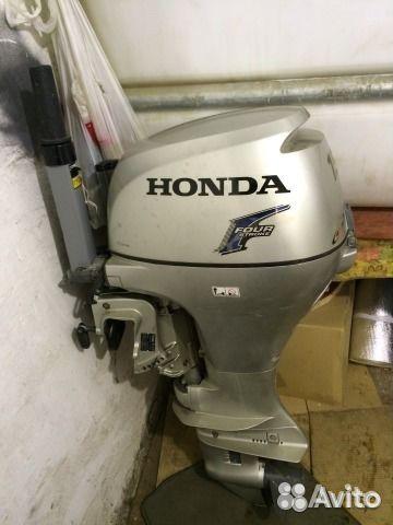 сервис лодочного мотора хонда