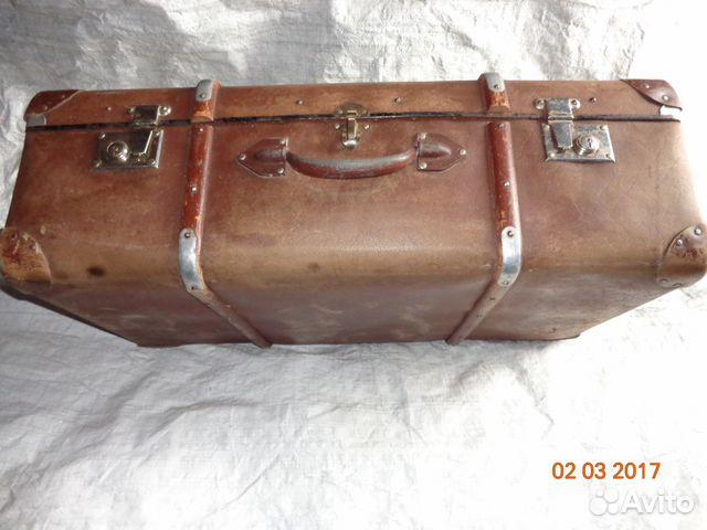 1cef9f6ecbb2 Старинный чемодан фирмы Кindelbrock купить в Кемеровской области на ...