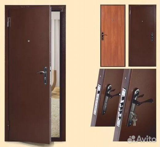 квартирных стальных дверей