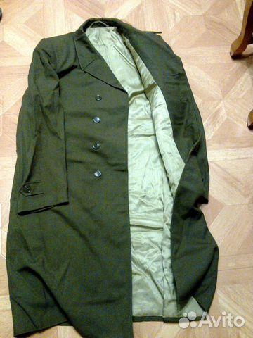 Плащ-пальто военное купить в Брянской области на Avito — Объявления ... 7063df84a78ba