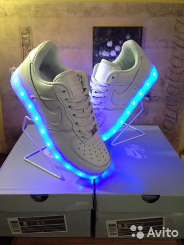 739d8632 Nike Air Force-кроссовки светящиеся, LED | Festima.Ru - Мониторинг ...