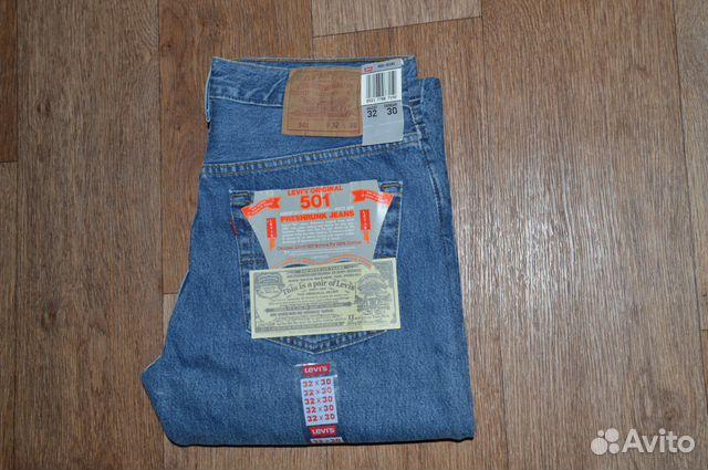 cef8a46b0179 Джинсы Levis 501 W30 L30, Made in USA, 1987г купить в Санкт ...