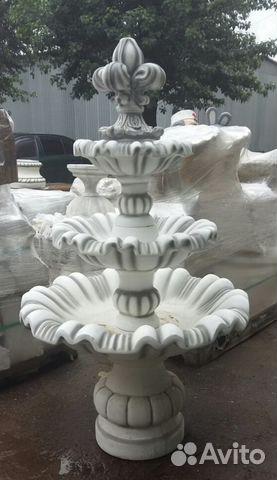 Фонтан из бетона для дачи купить ракушка бетон