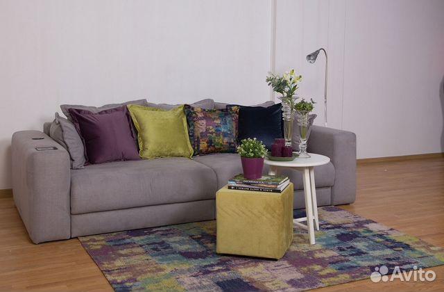 Ковры придиванные + декоративные подушки 89274474027 купить 5