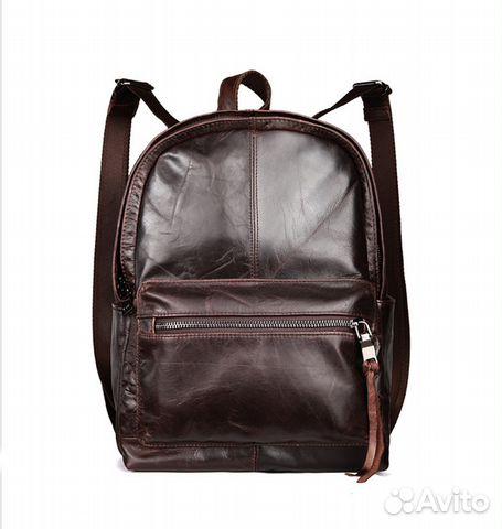 c5bb24c18cb8 Кожаный рюкзак натуральная кожа - Личные вещи, Одежда, обувь, аксессуары -  Москва - Объявления на сайте Авито