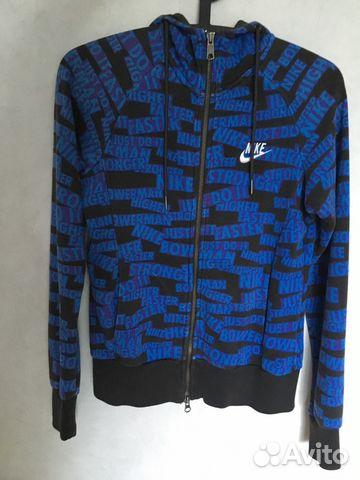 18e2349c2a9 Спортивная кофта Nike оригинал на молнии купить в Москве на Avito ...
