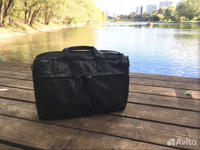 5f1c757a2319 Мужская сумка чёрного цвета   Festima.Ru - Мониторинг объявлений