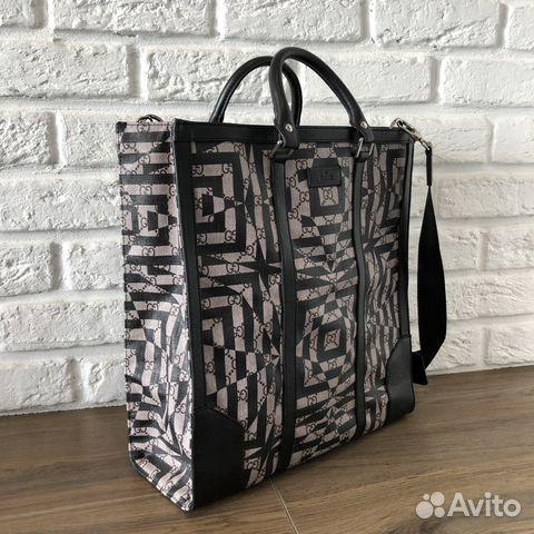 4e592685bc5f Gucci мужская сумка Caleido Tote купить в Москве на Avito ...