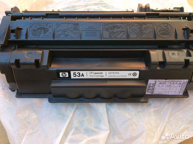 Картриджи HP 53A заправленные