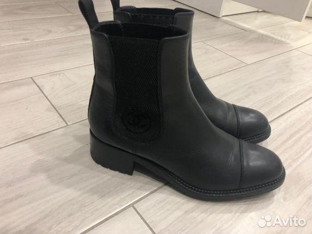 Ботинки Chanel оригинал   Festima.Ru - Мониторинг объявлений 687592e830b