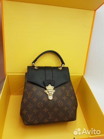b45e2ebf746b Рюкзак женский LV Louis Vuitton 4 расцветки купить в Москве на Avito ...