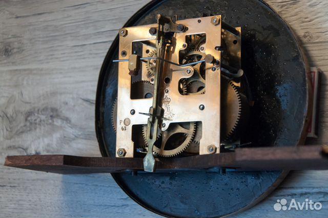 Часы настенные Gustav Becker, старинные. 1912 г купить 9