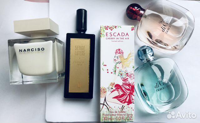 парфюмы оригиналы ароматы Escada Armani Narcisco купить в москве