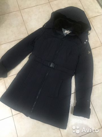 7259ee41b57 Пальто стеганное Tommy Hilfiger