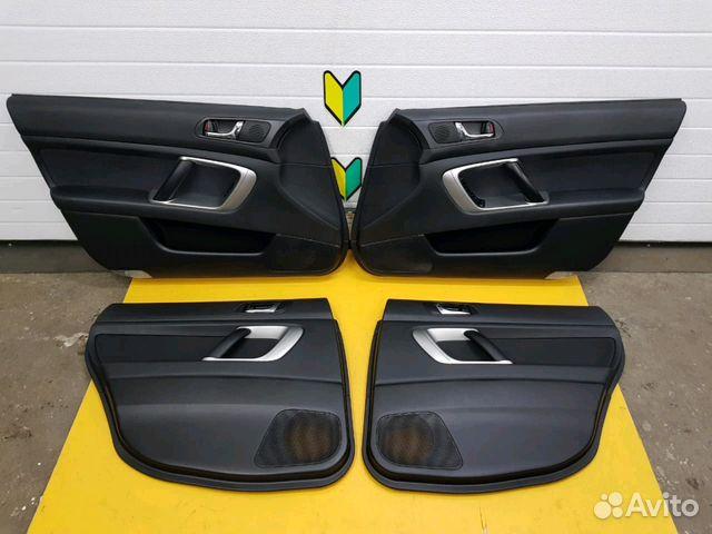 89625003353 Обшивка дверей комплект Subaru Legacy, BL5