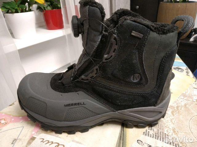 0a804a3fb Ботинки для активного отдыха зимние мужские Merrel   Festima.Ru ...