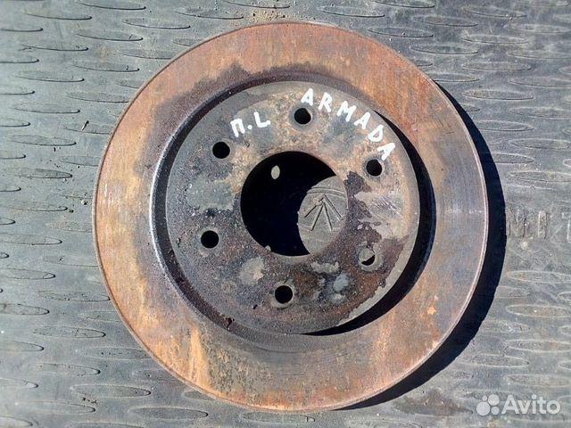 89026196331 Тормозной диск передний левый Nissan Armada VK56DE
