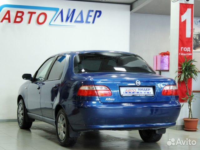 Купить FIAT Albea пробег 82 354.00 км 2007 год выпуска