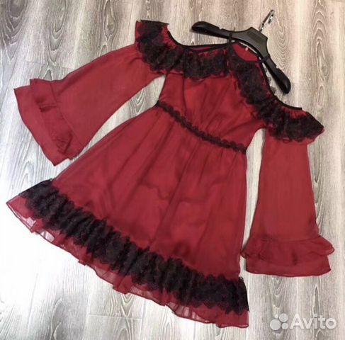 Продам шелковое платье