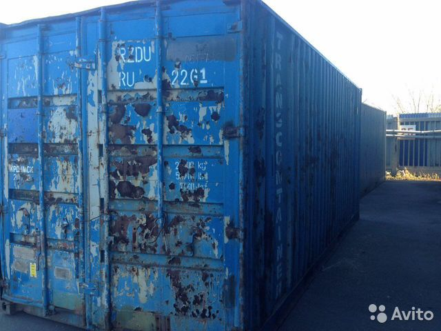 89370628016 Shipping container 20 f BU No. 78