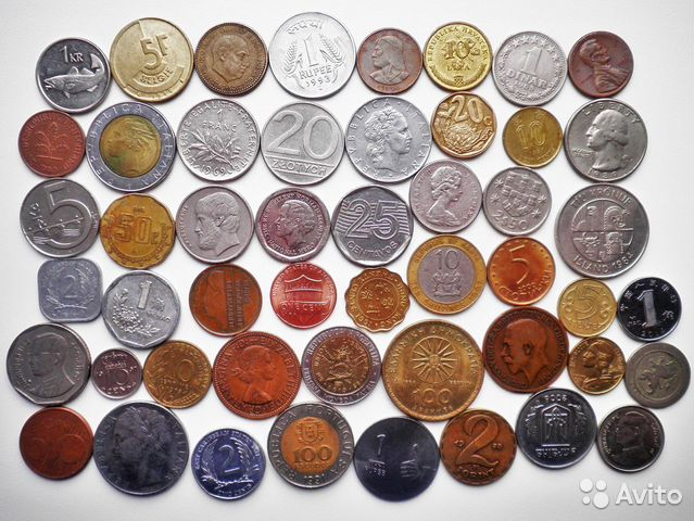 Иностранные монеты и банкноты 89176361160 купить 2