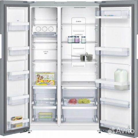 89270863062 Новый Side by Side Холодильник Bosch 604л 176см