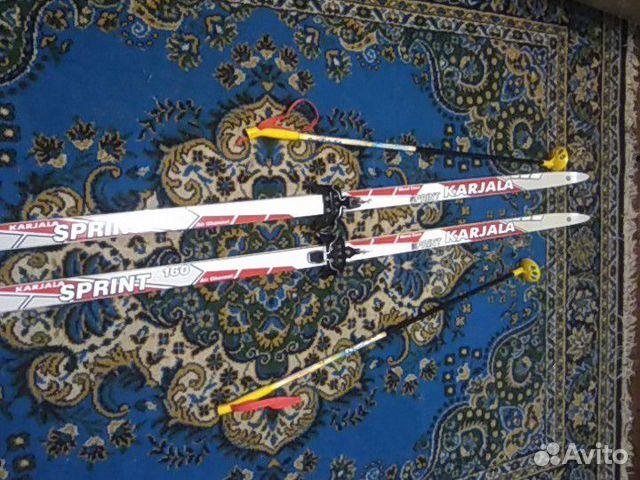 Беговые лыжи  89824874418 купить 1